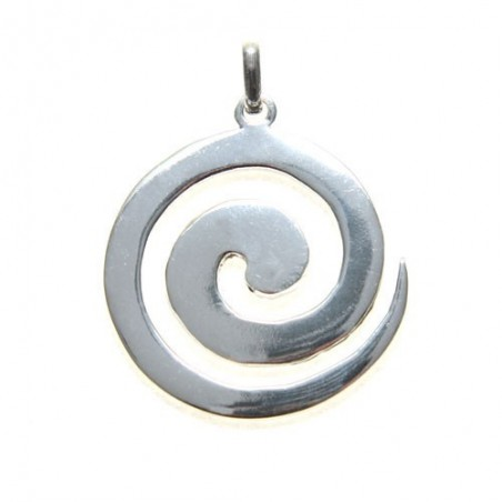 Colgante Espiral Celta de plata