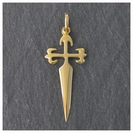 18 kts Gold Cross of Saint James