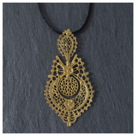 Gold plated 925 silver Pendant