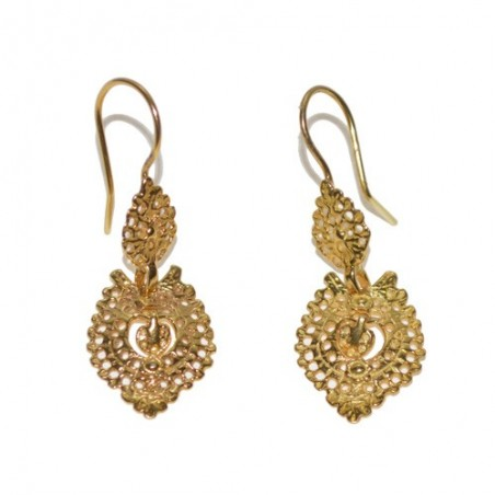 Gold plated 925 Silver Earrings