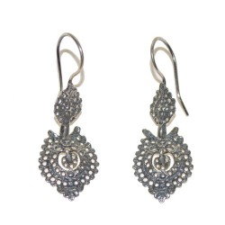 925 Silver Galician Dance Earrings