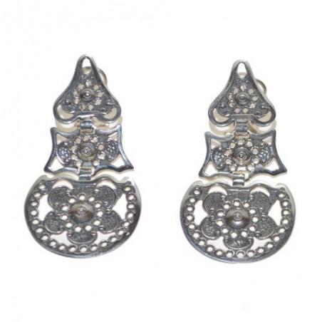 925 Silver Galician Dance Earrings