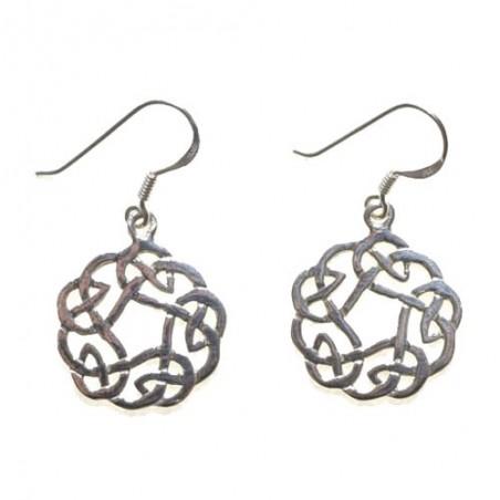 925 Silver Celtic Knot Earrings