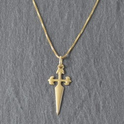 Cruz de Santiago y Cadena de Oro