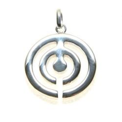 925 Silver Trisquel Pendant Labyrinth
