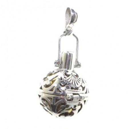 Llamador de ángeles de plata