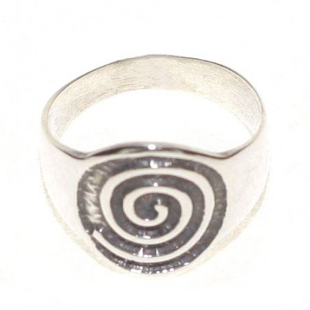 925 Silver Spiral Celtic Ring
