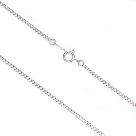 925 Silver Chain diamond cut curb