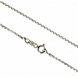 925 Silver chain classic trace diamond cut