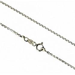 925 Silver chain classic trace diamond cut
