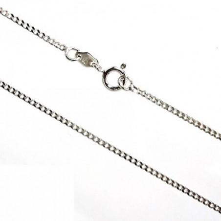 925 Silver Chain diamond cut curb