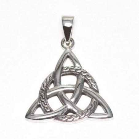 925 silver Celtic Triquetra pendant