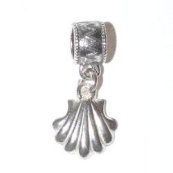 925 silver Scallop Shell Charm