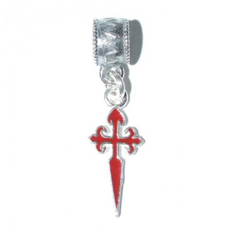 925 Silver Cross of Saint James Charm